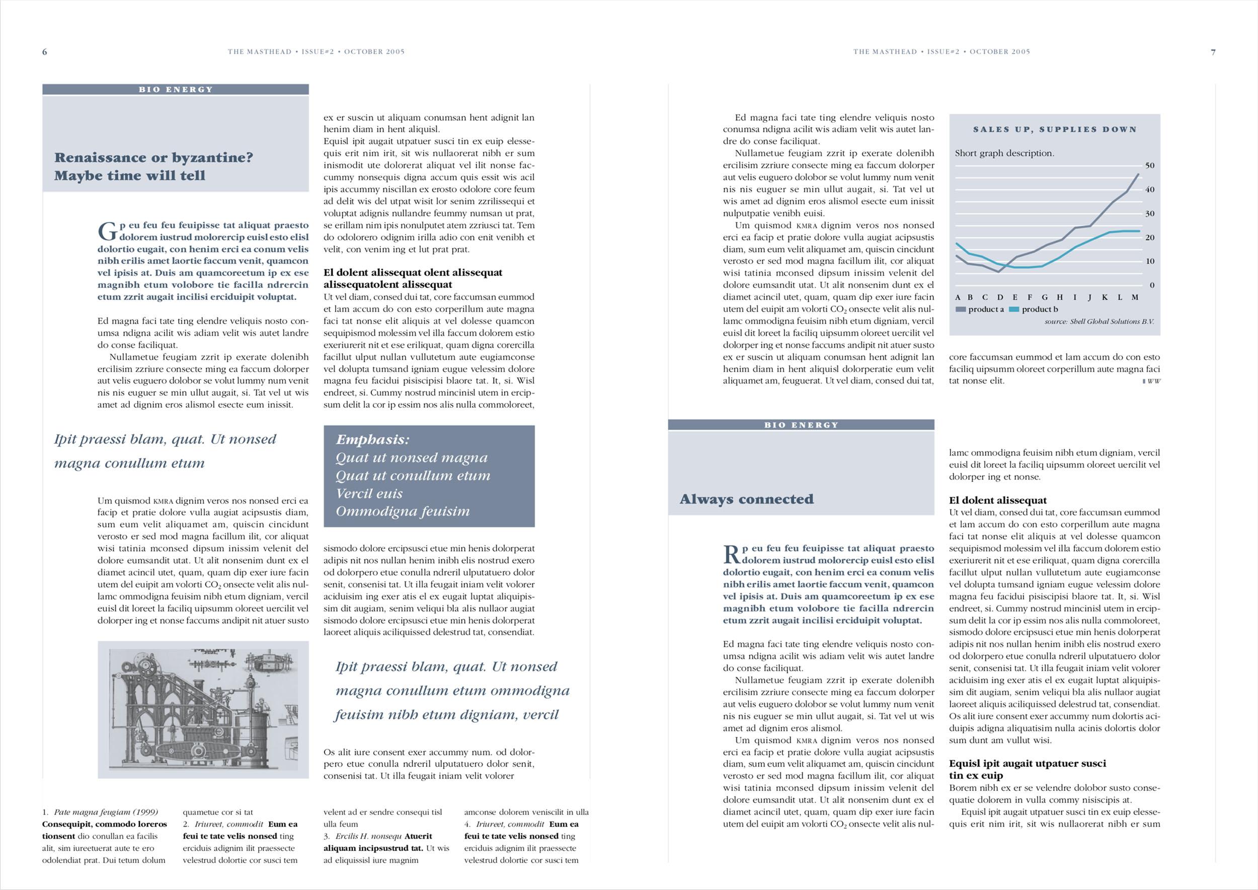 Newsletter The Masthead (pagina 6-7)