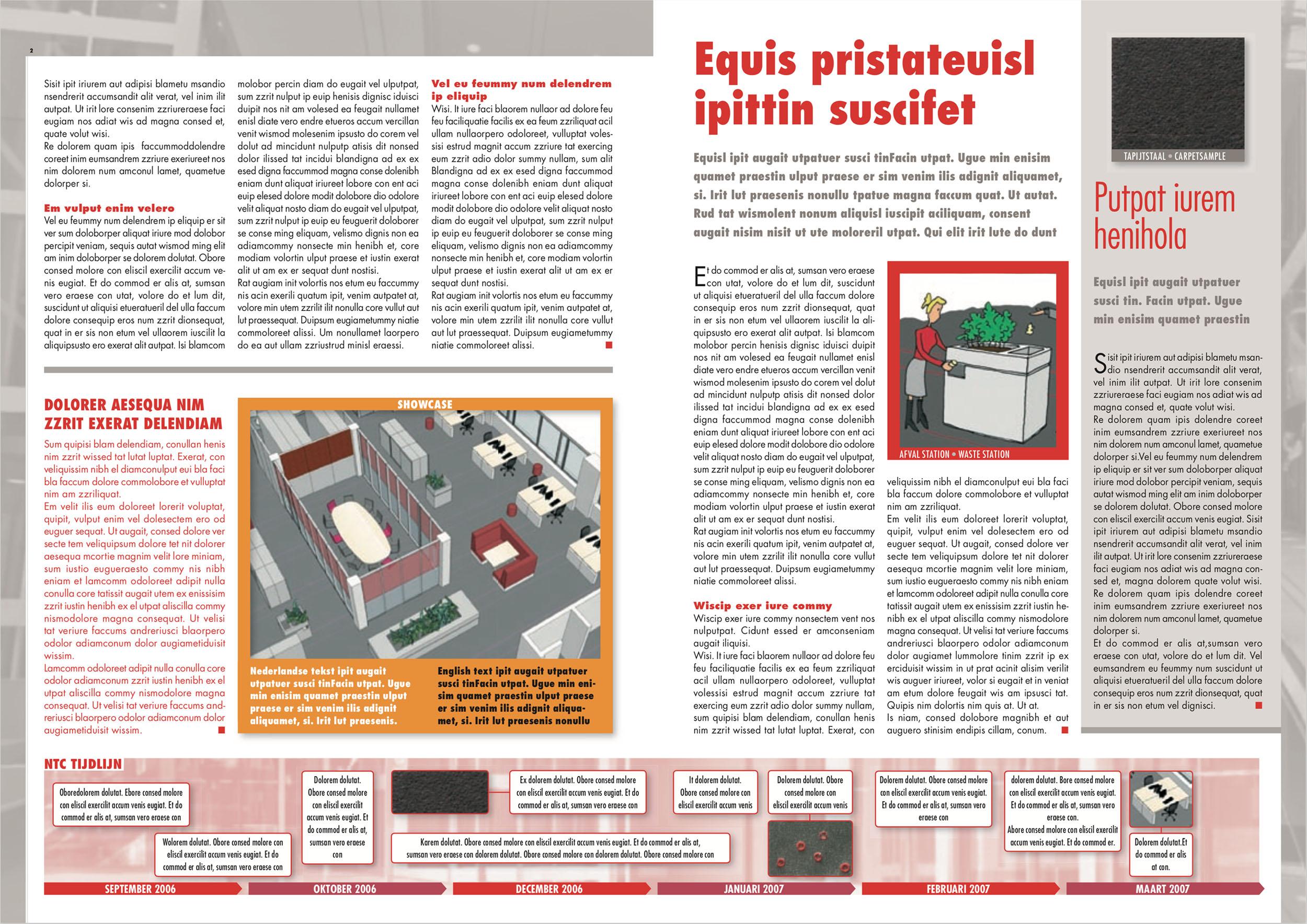 Nieuwsbrief SRTCA in beweging (pagina 2-3)