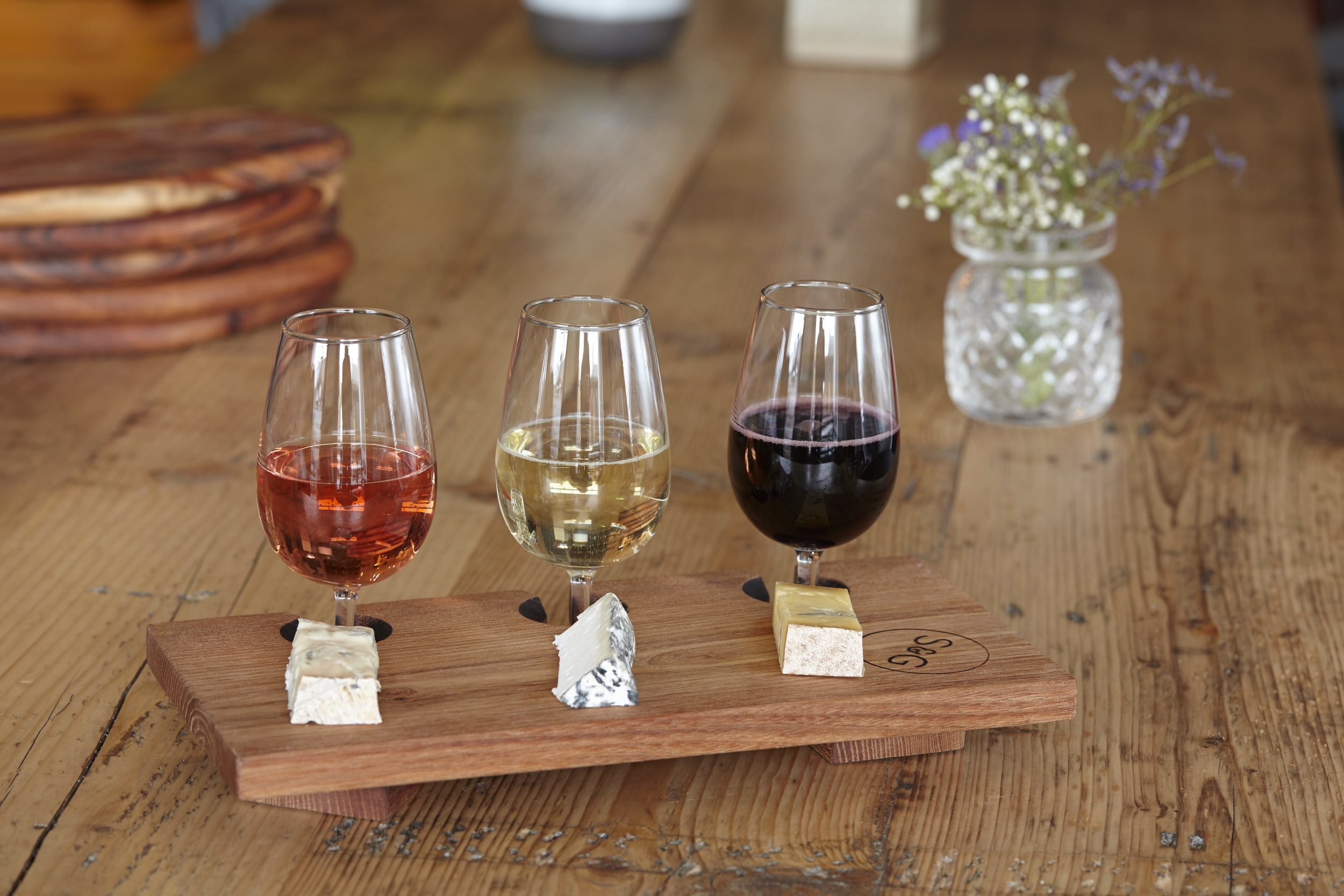 Cheese & Wine Flights - 5th - 11th September