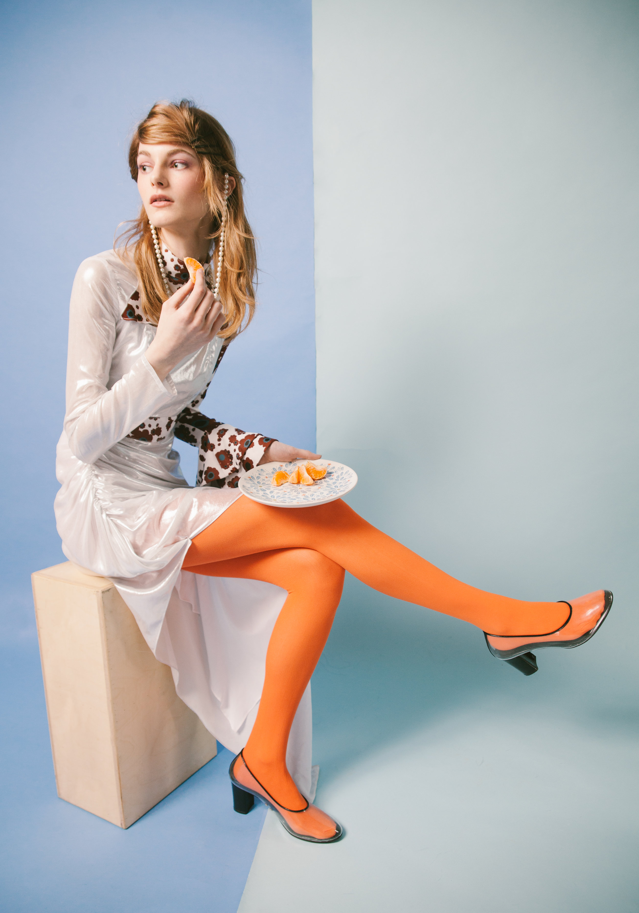 Dress Flou Flou. Shoes Z Tone