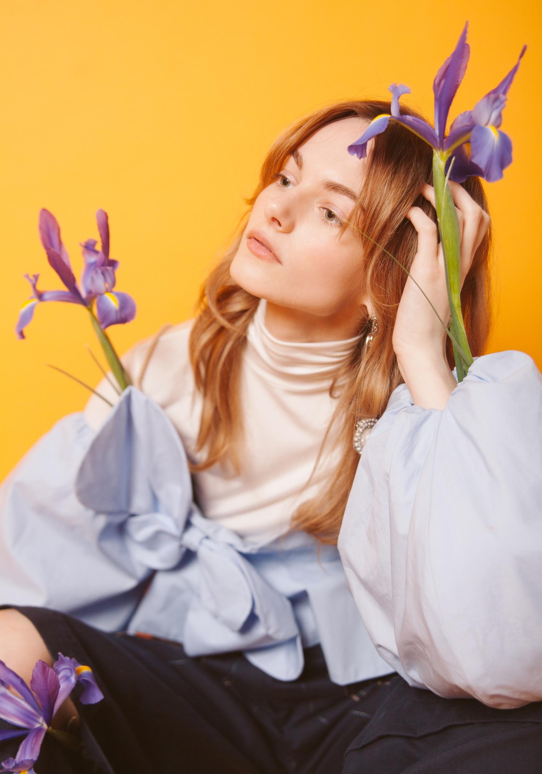 Top (white) Zara. Top (blue) Flou Flou. Pants Elena Rudenko