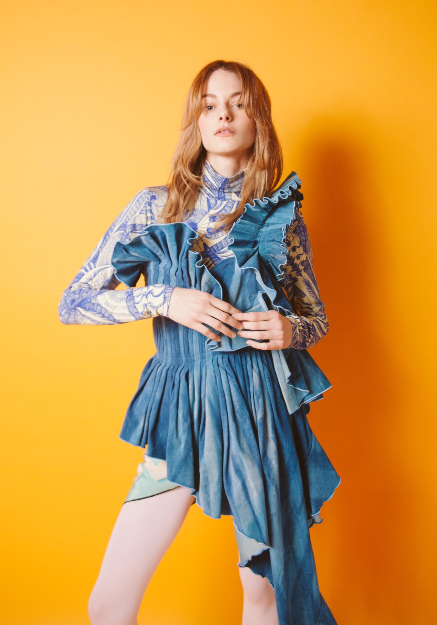 Top Dries Van Noten. Dress Jessica Chang