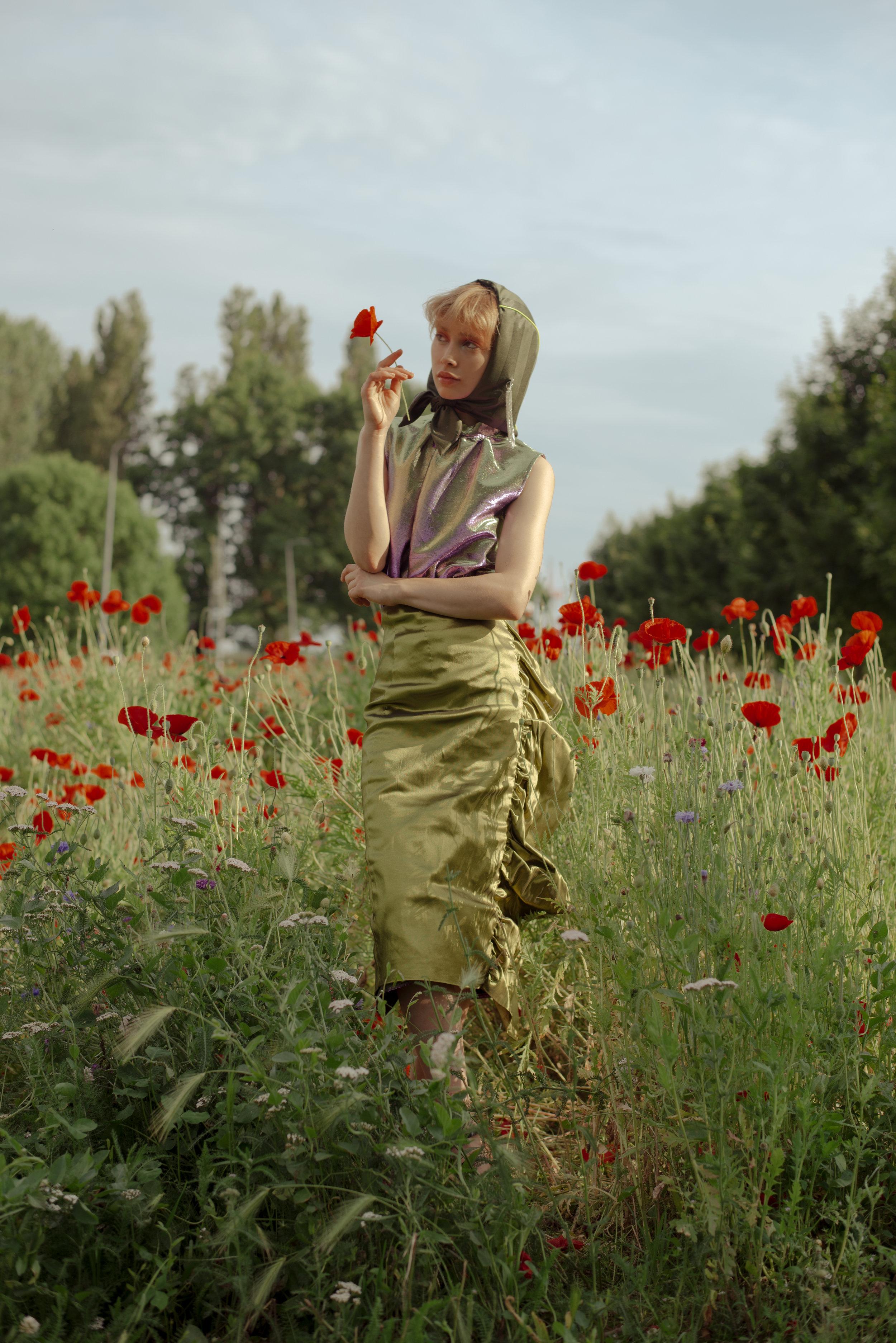 Dress + Skirt COLLINI Hat SALVATORE VIGNOLA