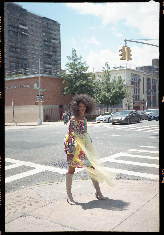 Dress / Leaf Xia Shoes / Stuart Weitzman
