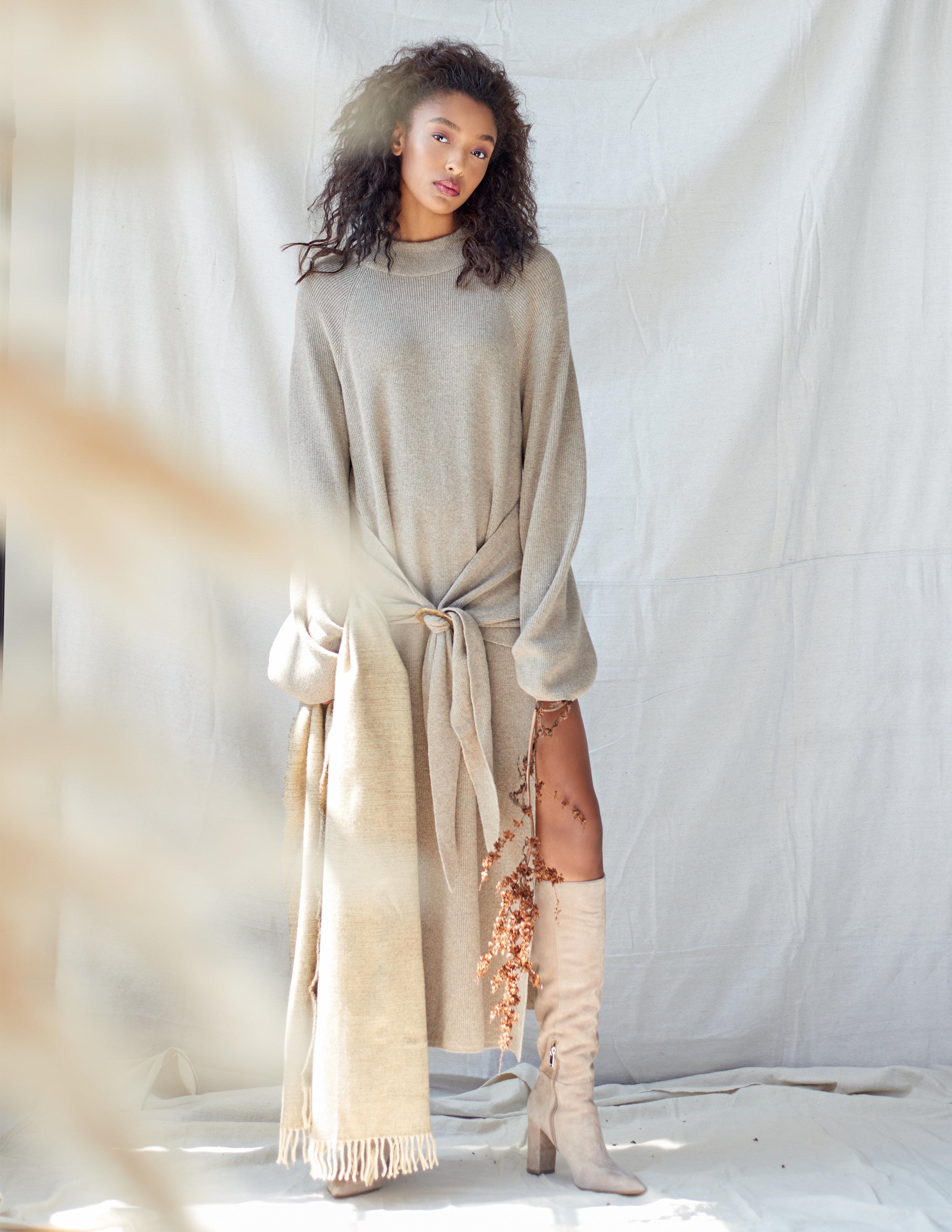 Nanushka sweaterdress  Marc Fisher boots