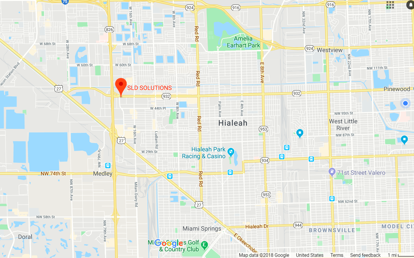 Located At - 1840 W 49th Street Suite #518 , Hialeah, FL, 33012