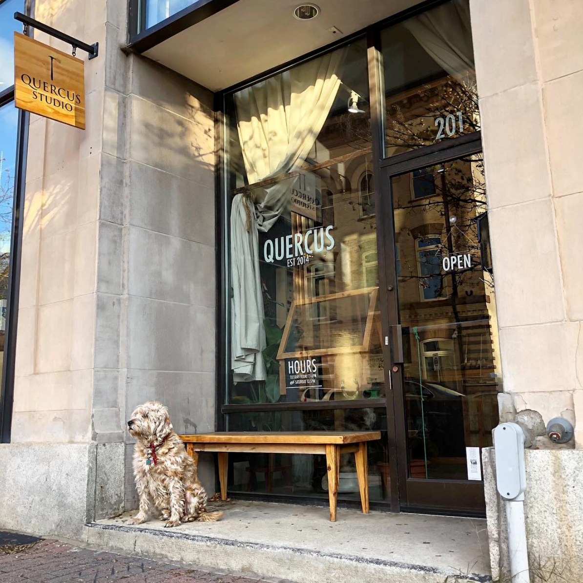Quercus Studio - A goldsmith studio and boutique that specializes in custom jewelry, heirloom repurposing, and features a selection of curated gift items.201 S Salisbury St.