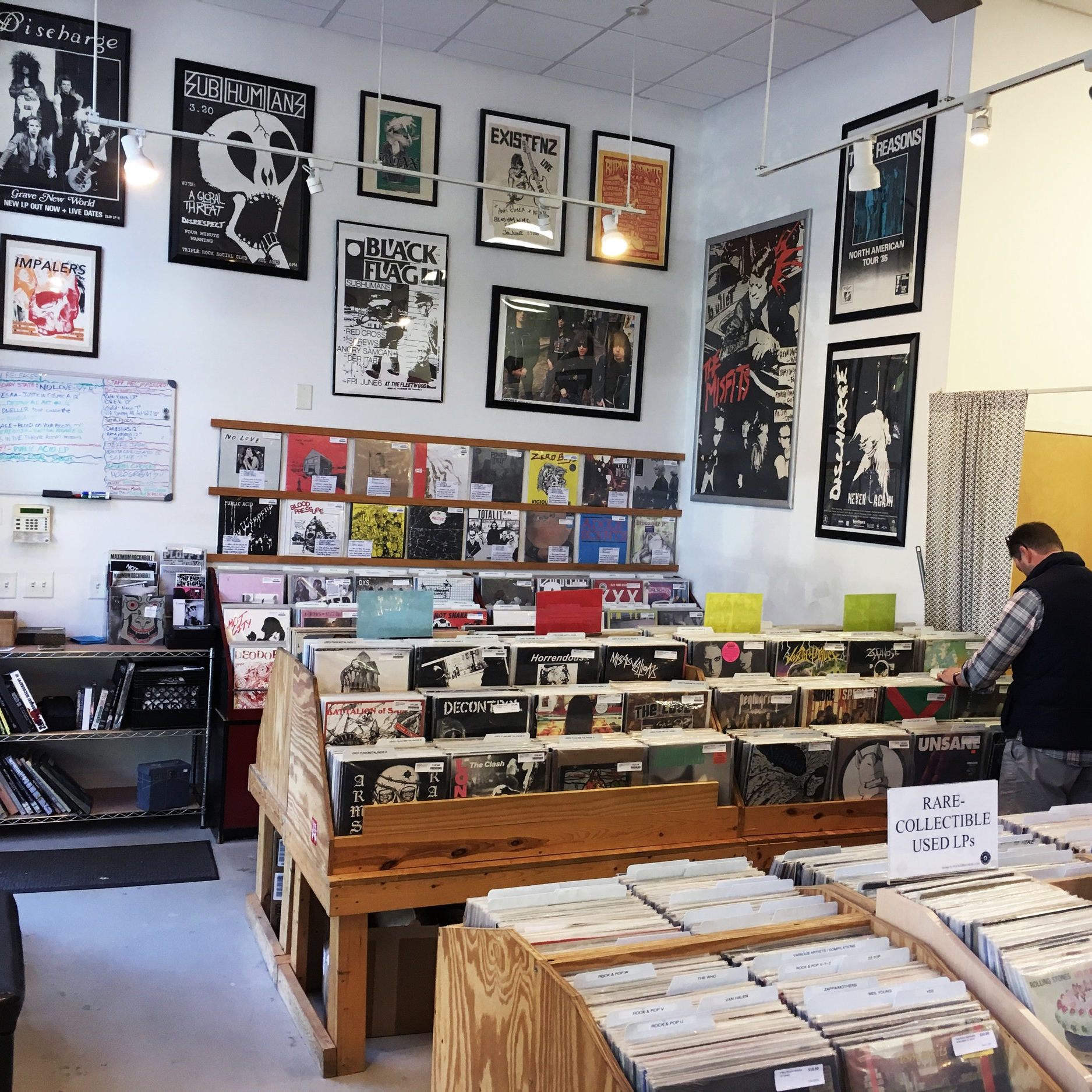 Sorry State Records - New and used vinyl and cassettes. Specializing in punk rock, heavy metal, classic rock, and jazz, but with a selection to please any music lover.317 W Morgan St #105