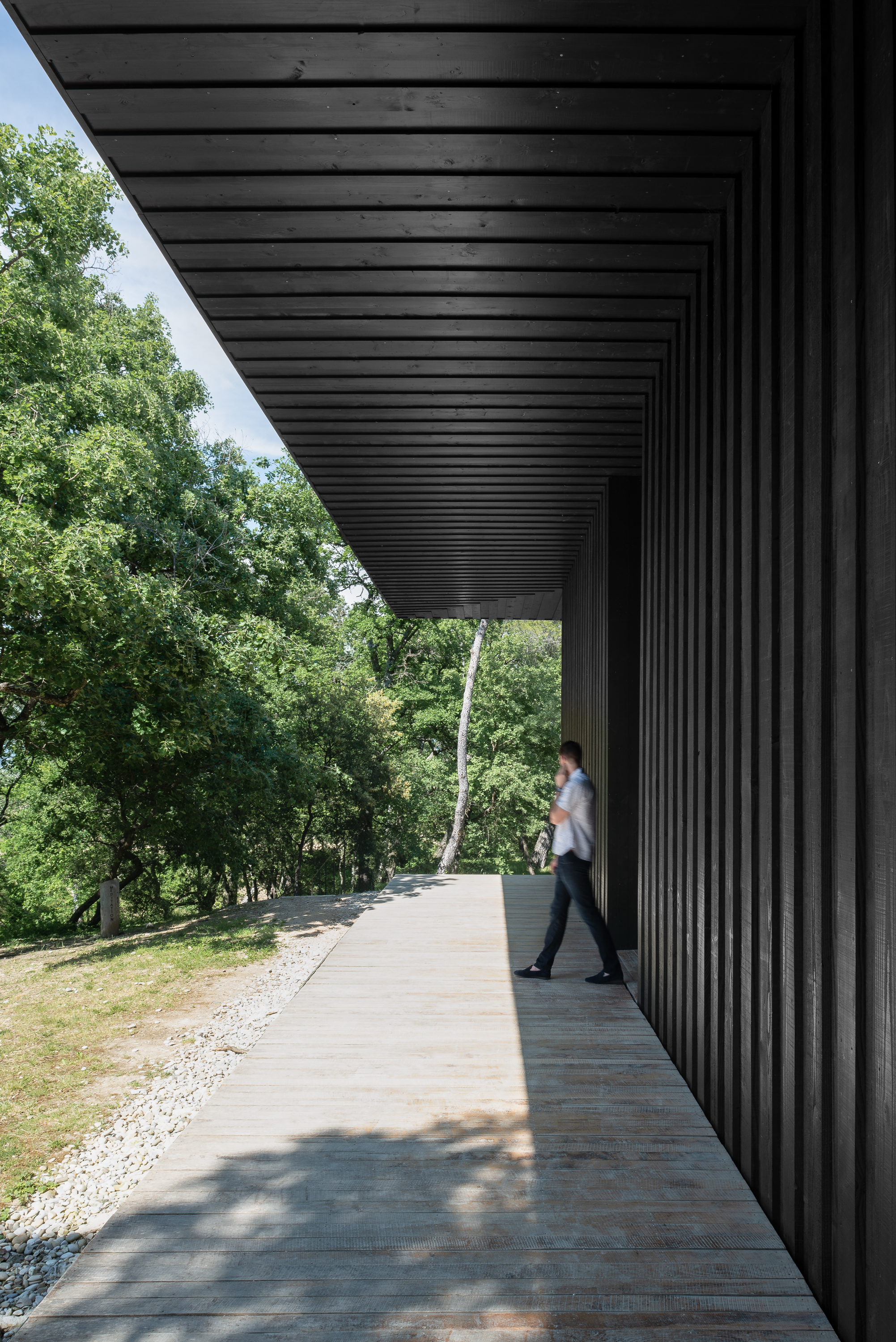 Four Cubes to Contemplate our Environment by Tadao Ando