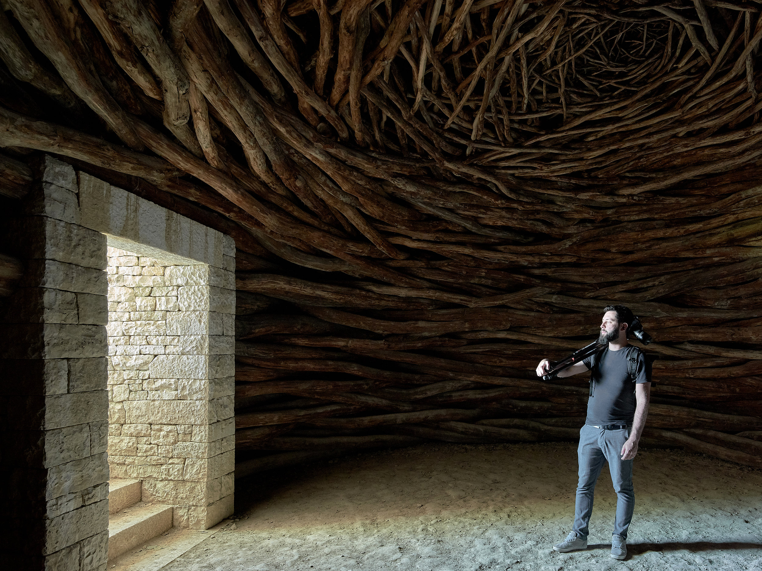 Oak Room by Andy Goldsworthy. Photo © Henry Woide