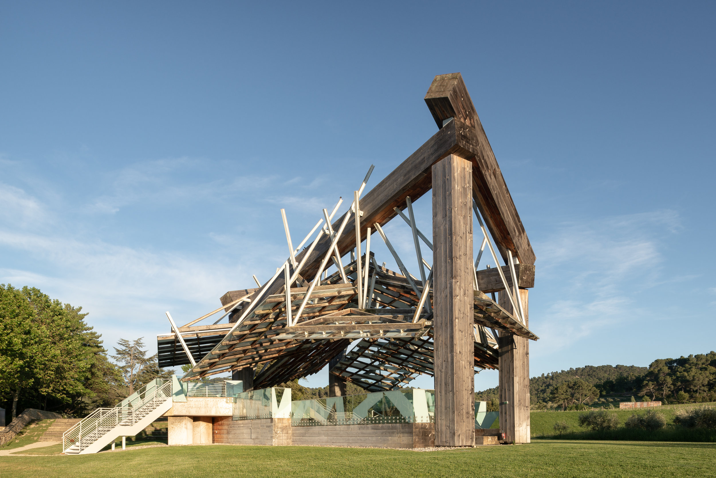 Music Pavilion by Frank O. Gehry