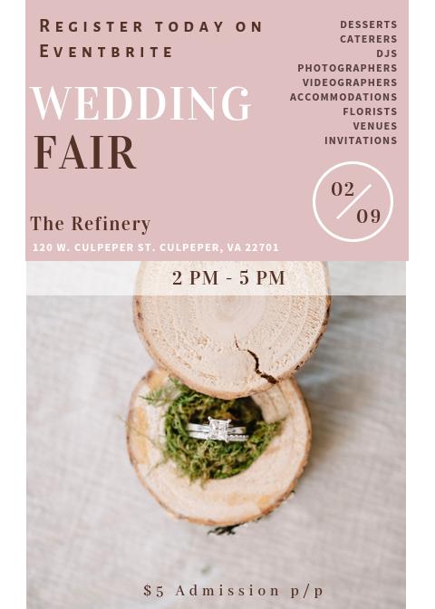 Wedding Fair in Culpeper, Va Photo