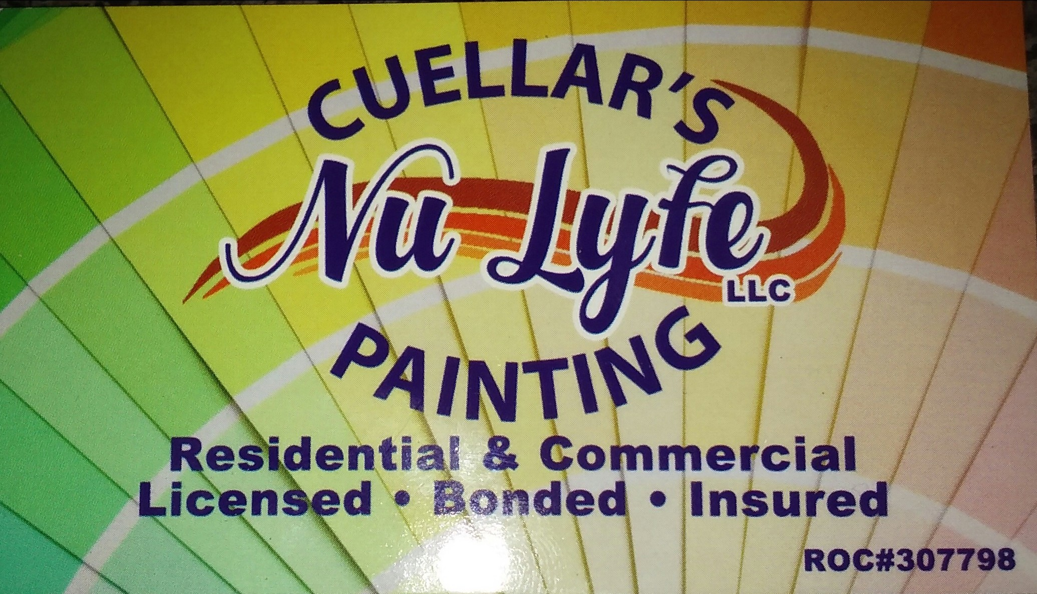 - Cuellar's Nu Lyfe Painting Adds Beauty and Value to your Home.