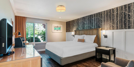 UpValley Inn & Hot Springs - A simple, yet charming boutique hotel in the heart of Calistoga. Newly renovated rooms walking distance from the Solage hotel.Starting at $319/night