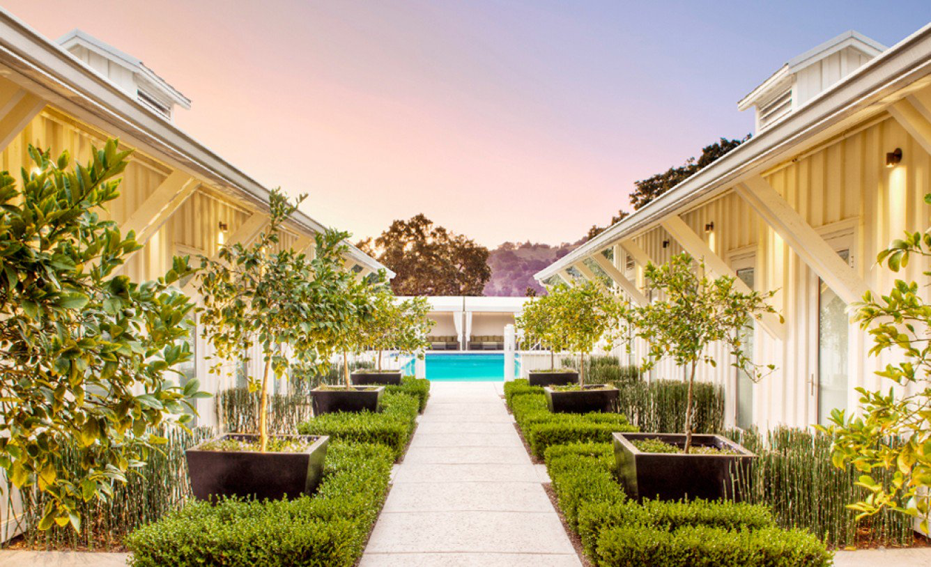 Solage - An Auberge Resort, the Solage is a luxury five star resort and spa in Calistoga. It boasts 83 spacious cottages, an award-winning spa, a Michelin star restaurant and complimentary bicycles.Rates start at $950/night