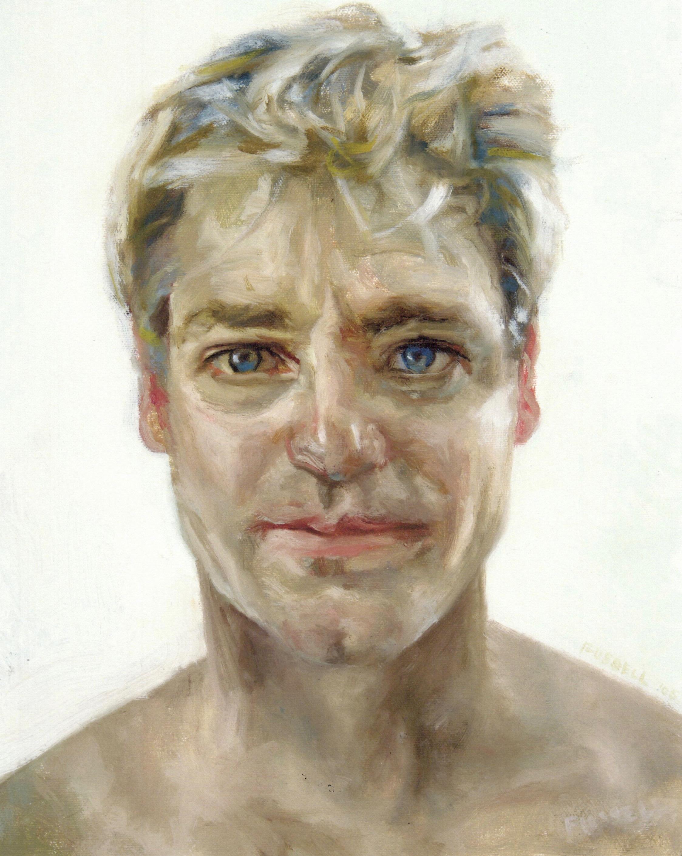 "Oil on Canvas  14 x 11"""