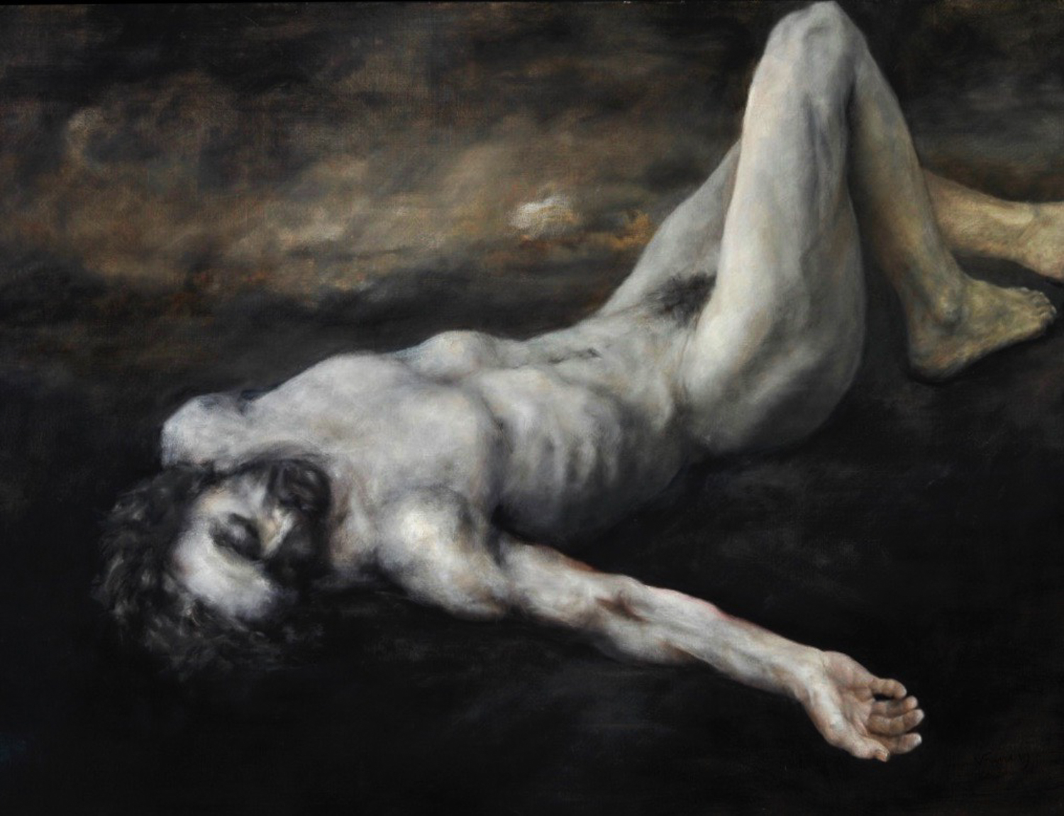 100119-100119-Grisaille Man.Oil on Linen.42x48%2200024--00001.jpg