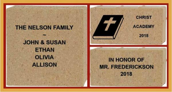 Personalized Bricks - Building a legacy one brick at a time.