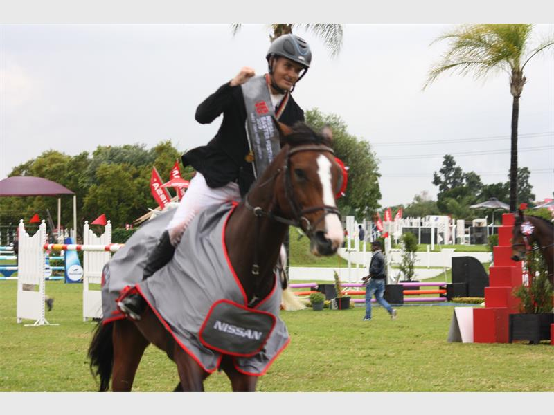 CHANTILLY - COMPETING SUCCESSFULLY AT 1.50M LEVEL IN SOUTH AFRICA