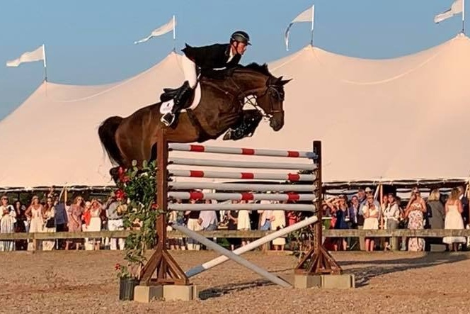 KING CLOONEY - SOLD TO USAOWNED AND RIDDEN BY ADAM CRAMER