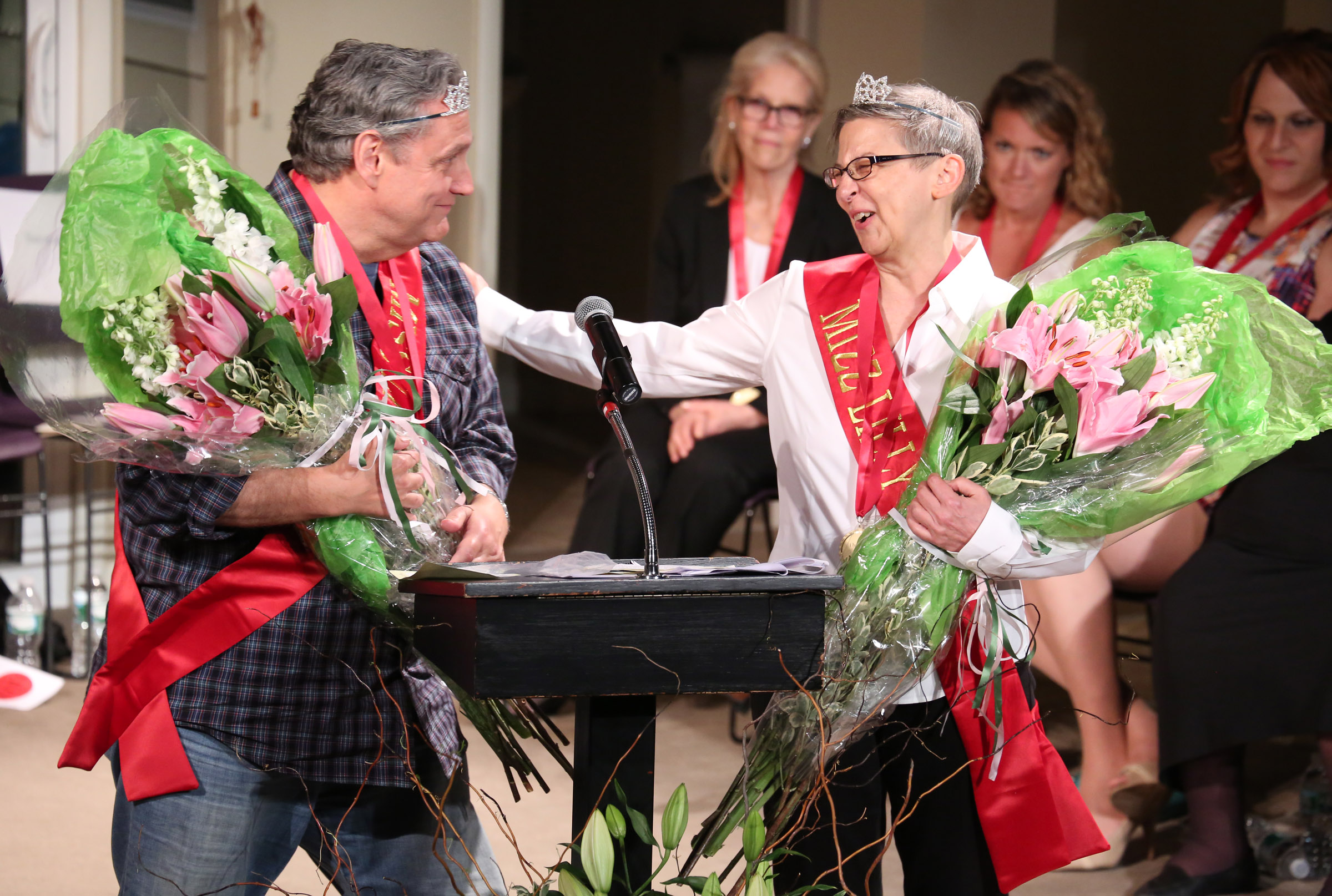 2015 LILLY AWARDS Photo 12 Jim Nicola and Linda Chapman.Photo by Walter McBride.jpg