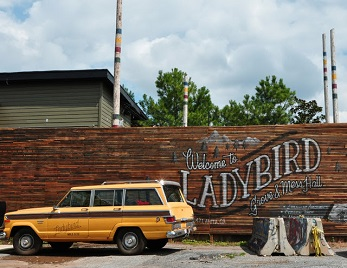 Ladybird - Favorite spot on a nice day for drinks on the Beltline.