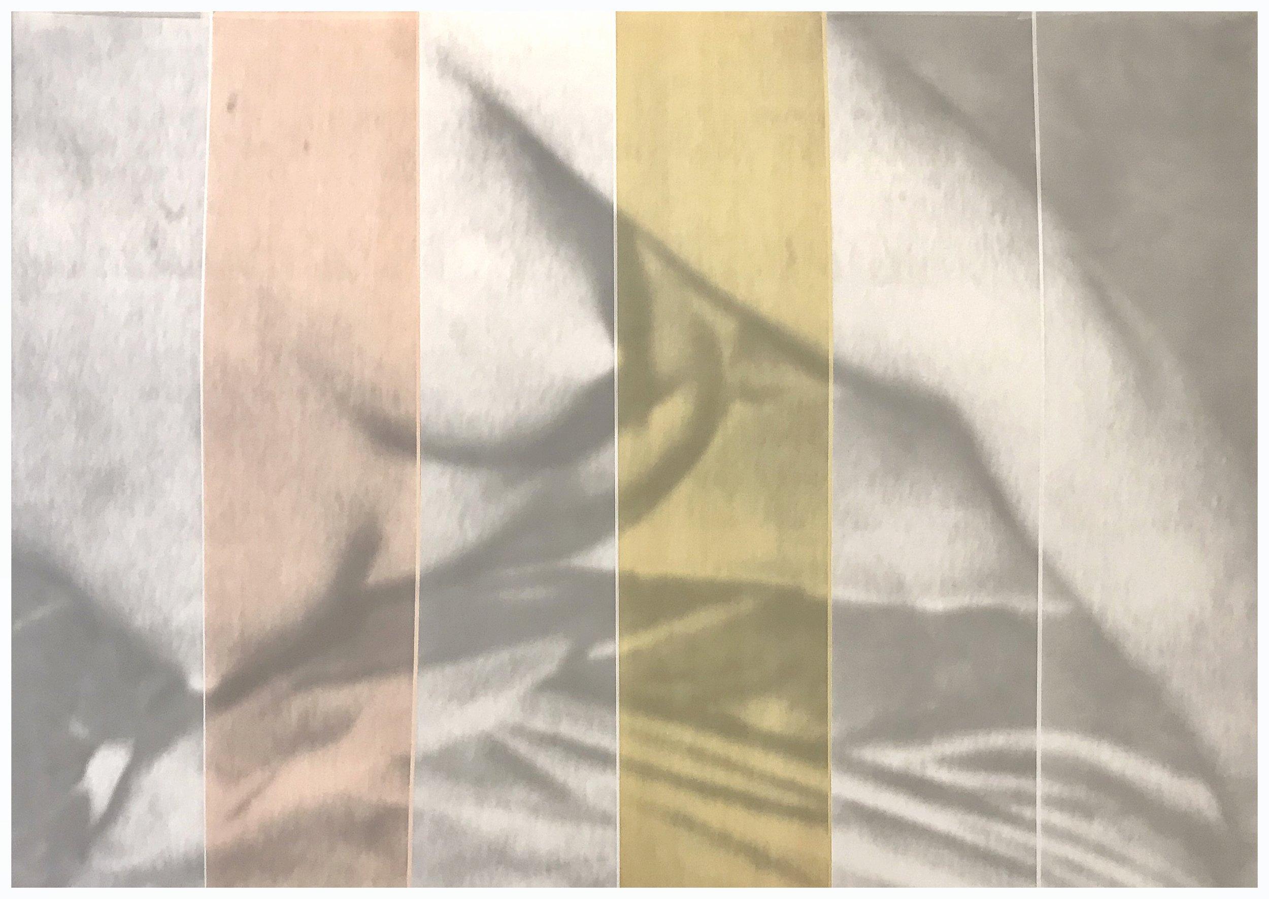 "Hand tinted gelatin silver print ""Cold Love series"" 60x40 cm"