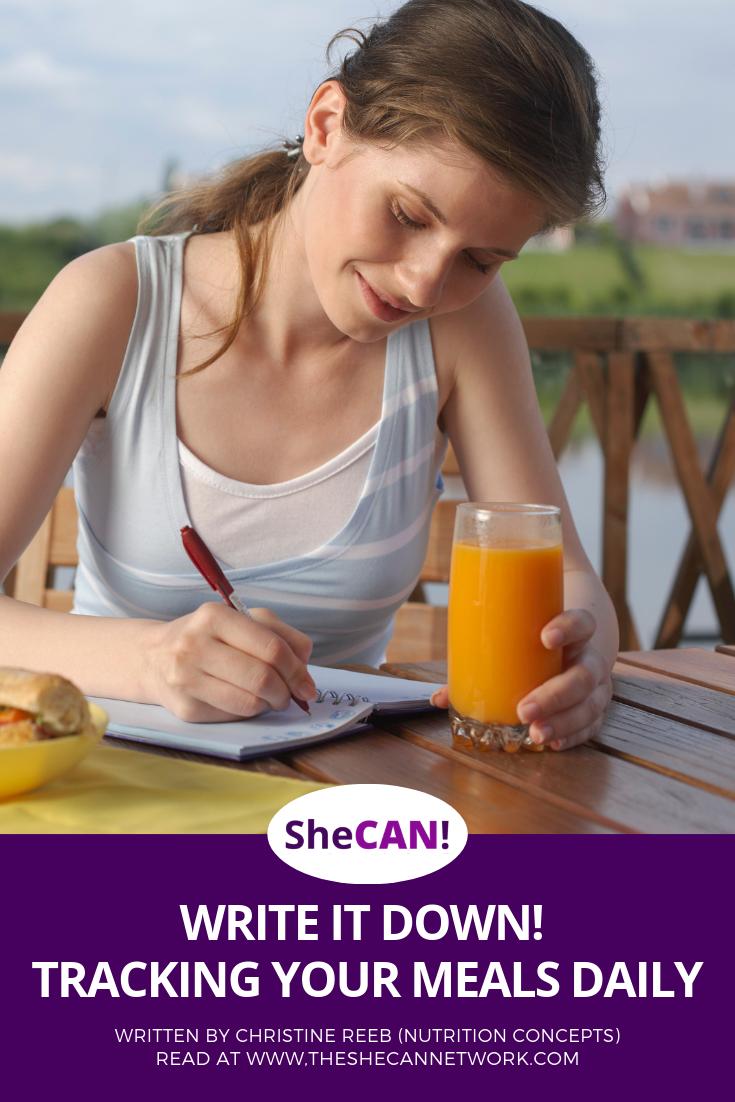 SheCAN! Christine Reeb - Tracking Your Food