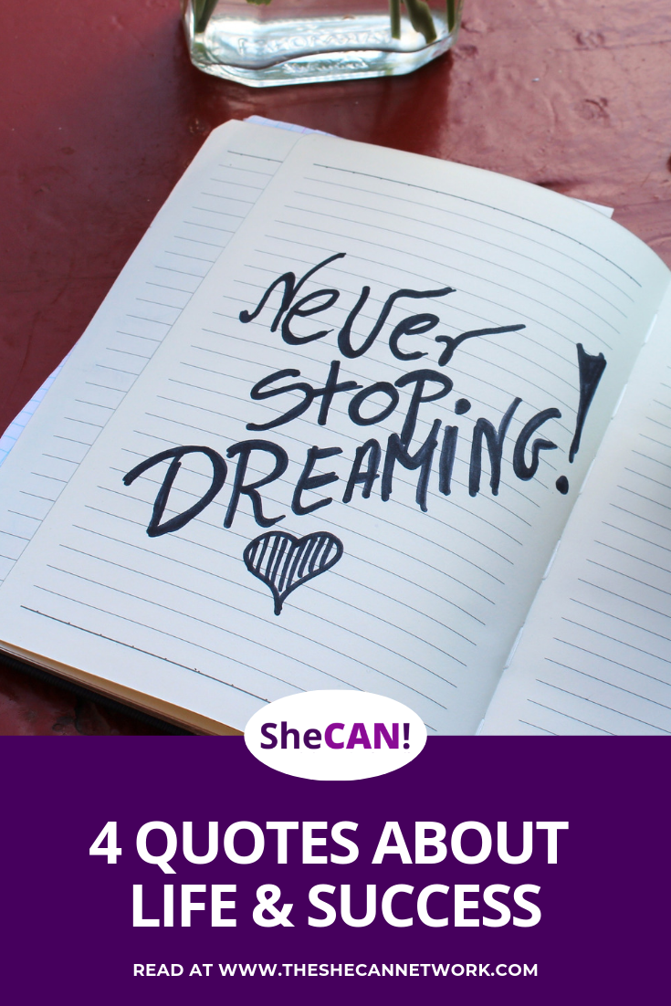 SheCAN! Quotes