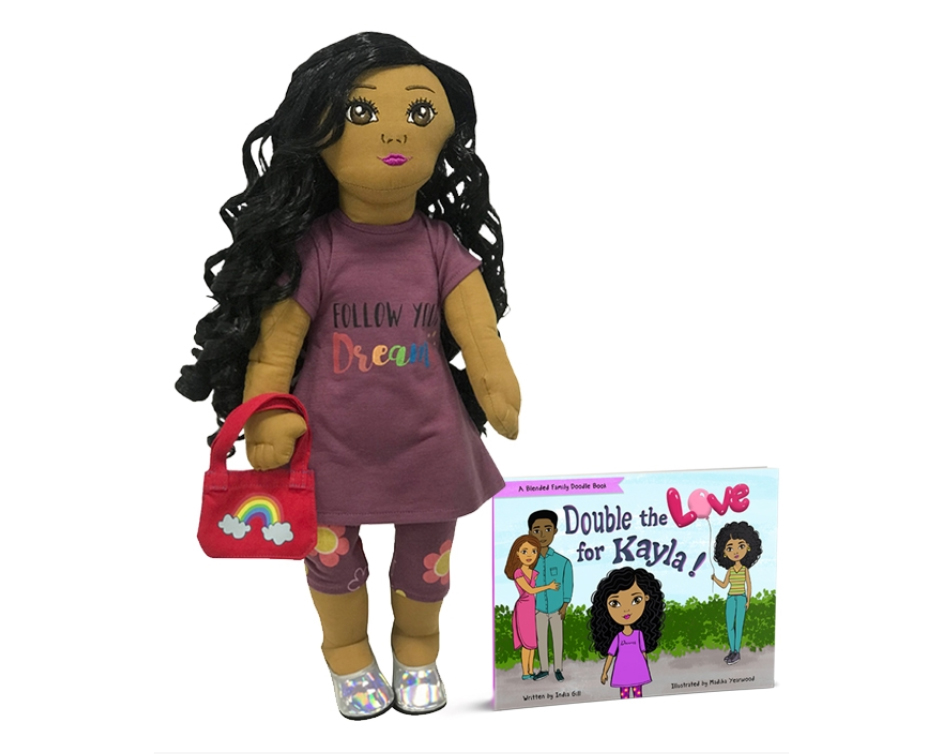 18 inch doll with activity book
