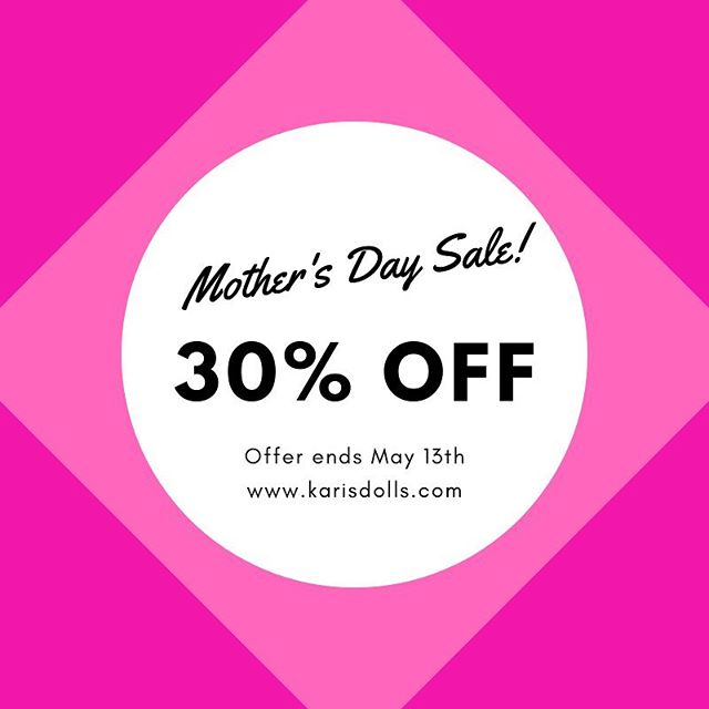 We are happy to announce our Mother's Day sale!  Kayla is the perfect friend to help children who are adjusting to living in a blended family, and now you can get her for 30% off through May 13th💕  Check out the link in our bio for more info on Kayla! • • • • • • • #mothersday #mothersdaysale #dollsale #blendedfamily #blendedfamilylife #stepparent #stepkids #stepchildren #stepfamily #karisdolls #dolls #childrensdolls #adoption #adopt #adoptionrocks #grace #mommyblogger #lgbtfamily #singlemom #singledad #kids #instakids #familylove #uniquefamily #diversefamily  #mixedfamily #coparenting #blended #divorce