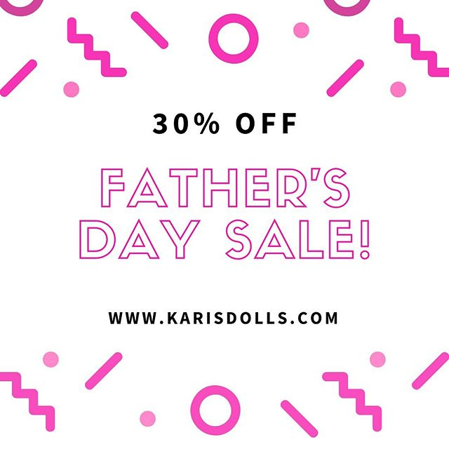 We are happy to announce our Father's Day sale!  For any Father's out there that would like to help their children through Blended family transitions, use code FATHERS30 through June 17th when you check out on the website for 30% off the Kayla Doll + Activity Book🥳  Check out the link in our bio for more info on Kayla and the sale! • • • • • • • #fathersdayv#fathersdaysale #dollsale #blendedfamily #blendedfamilylife #stepparent #stepkids #stepchildren #stepfamily #karisdolls #dolls #childrensdolls #adoption #adopt #adoptionrocks #grace #mommyblogger #lgbtfamily #singlemom #singledad #kids #instakids #familylove #uniquefamily #diversefamily  #mixedfamily #coparenting #blended #divorce