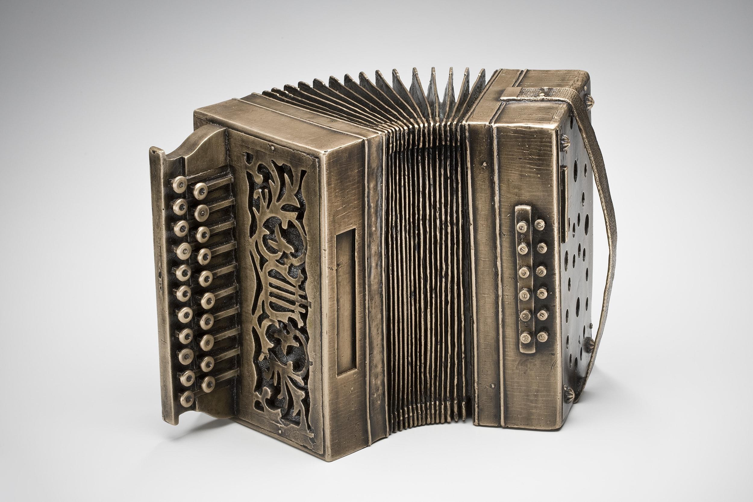 First Generation Artifact: Button-Box Accordion