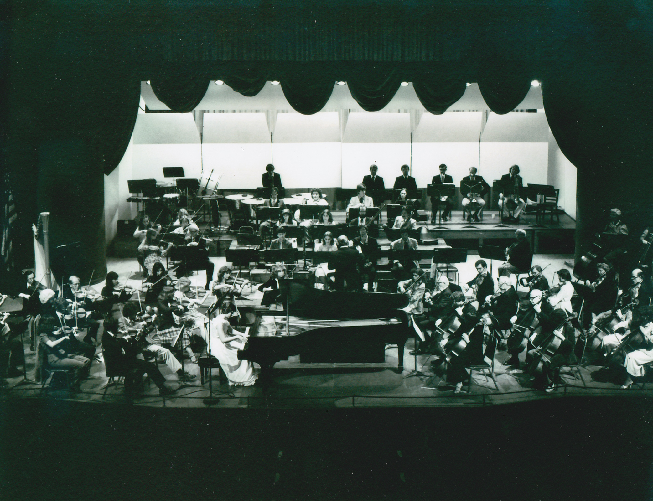 Janet performing with Florida Orchestra, 1980