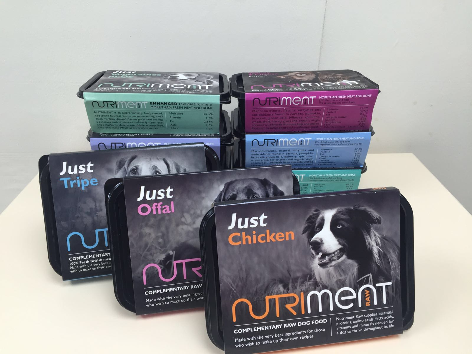Nutriment dog food
