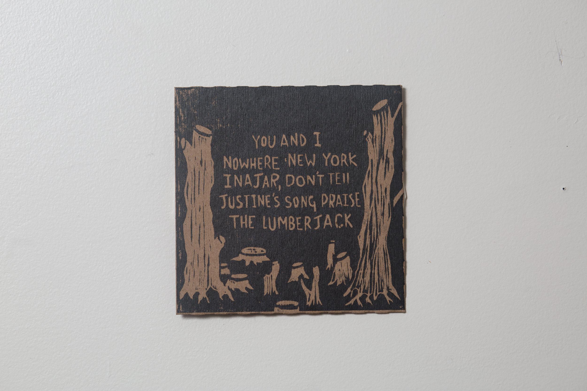'The Lumberjack' CD front