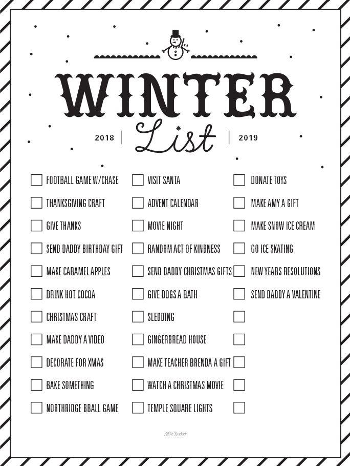 List created by Belle Bucket