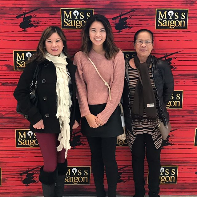 It's been over 20 years since we've all seen Miss Saigon in DC and I've learned a few things. 🚁 🇻🇳 🇺🇸 1. My mom was nuts to let her young daughters see a show about prostitution, war, blackmail and murder.  2. Now that I'm a mom, anything about children will have me sobbing until my shirt is wet.  3. It was so good!