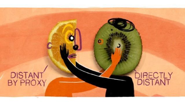 """How to cope with an avoidant partner"", made for #theschooloflife is now online . . . #characterdesign #animation #2danimation #design #shriveledkiwi #artistsoninstagram #fruitface #orange #kiwi #lovers"