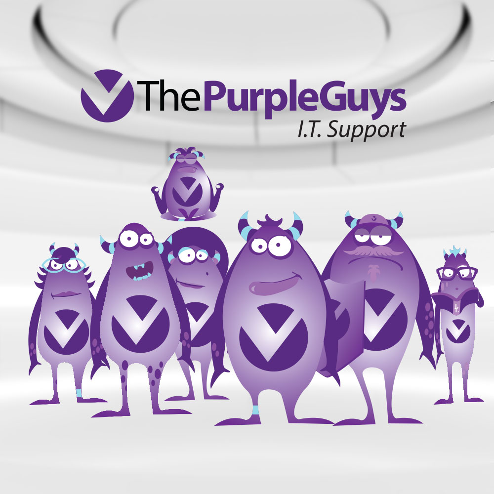 THE PURPLE GUYS - GUYS AND GALS