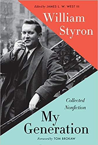 The Confessions of William Styron - Review of William Styron's My Generation, The Wall Street Journal, June 19, 2015