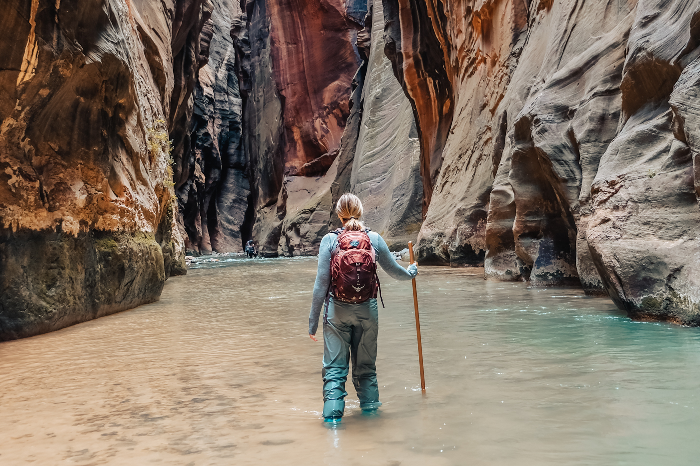 The iconic Zion Narrows