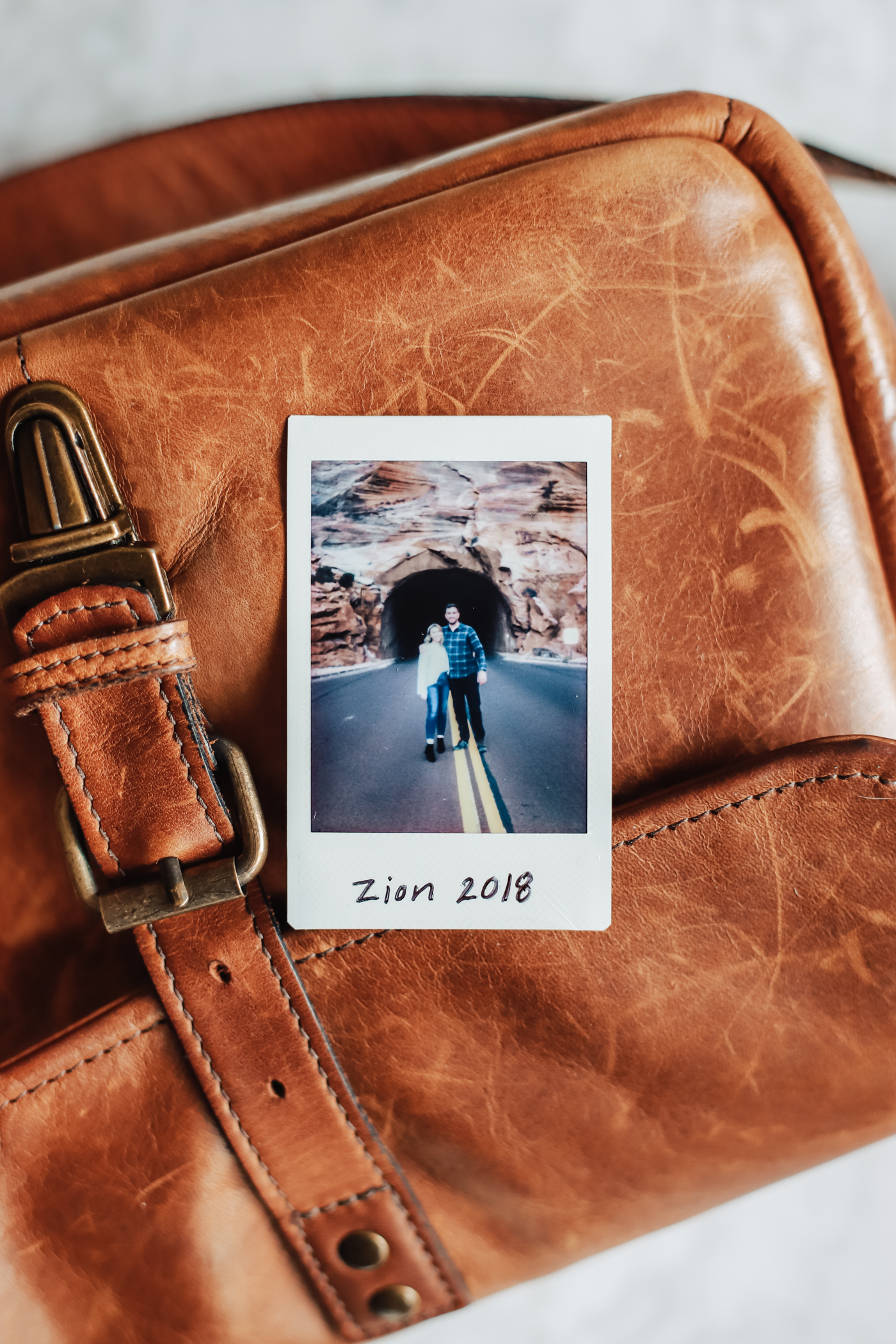 Polaroid from Zion National Park