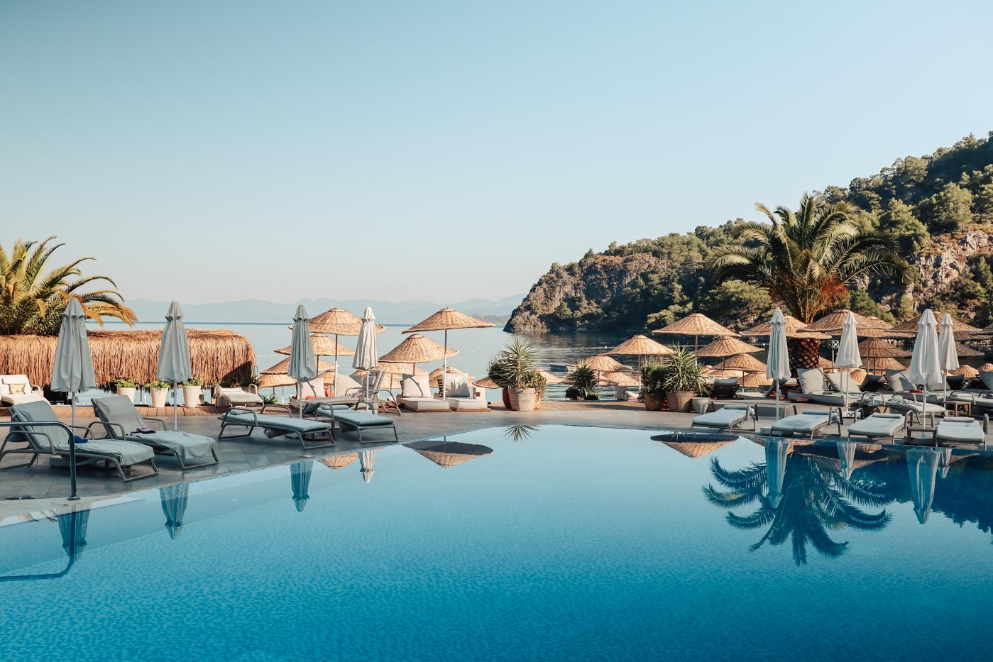 The Hillside Beach Club pool.