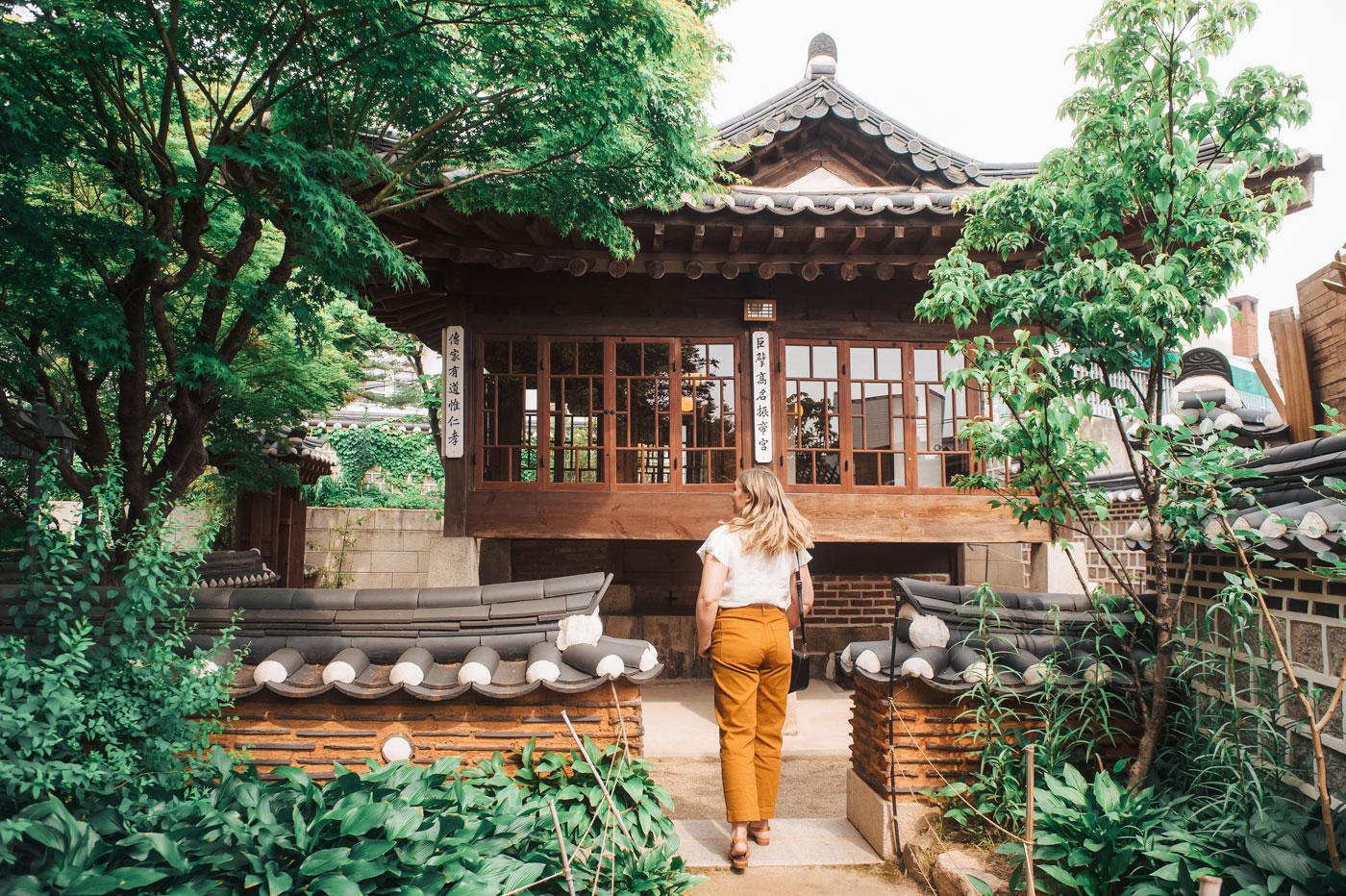 Baek- In-Je House in Bukchon Hanok village