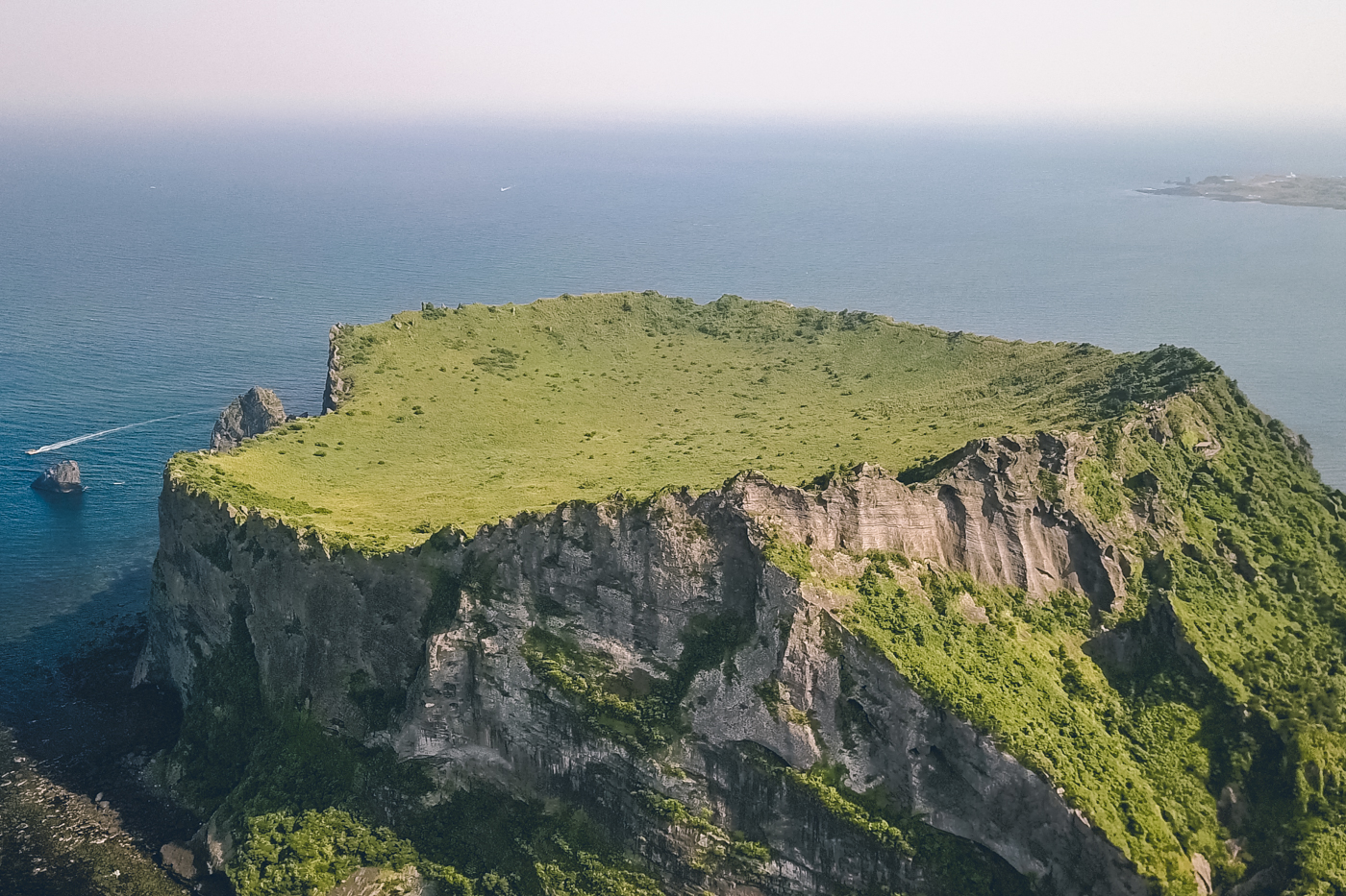 Sunrise Peak on Jeju Island