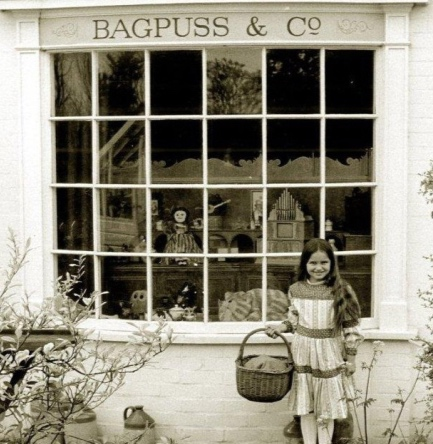 Bagpuss shop front (I still haven't worked out what they actually sold in the shop!)