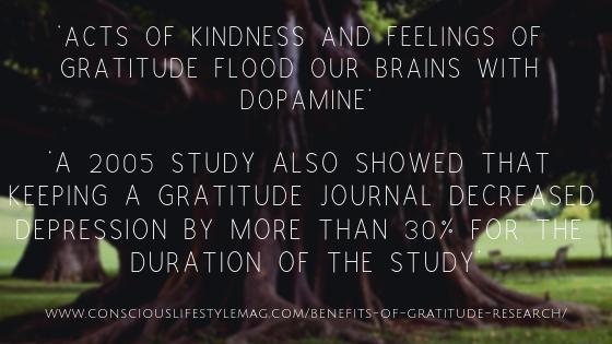 How gratitude makes us feel better
