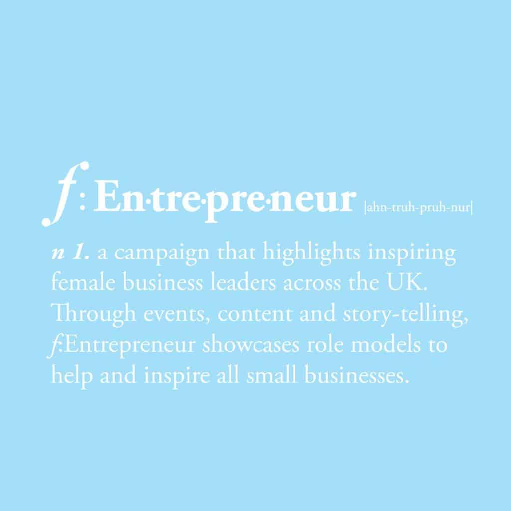 f:Entrepreneur campaign message