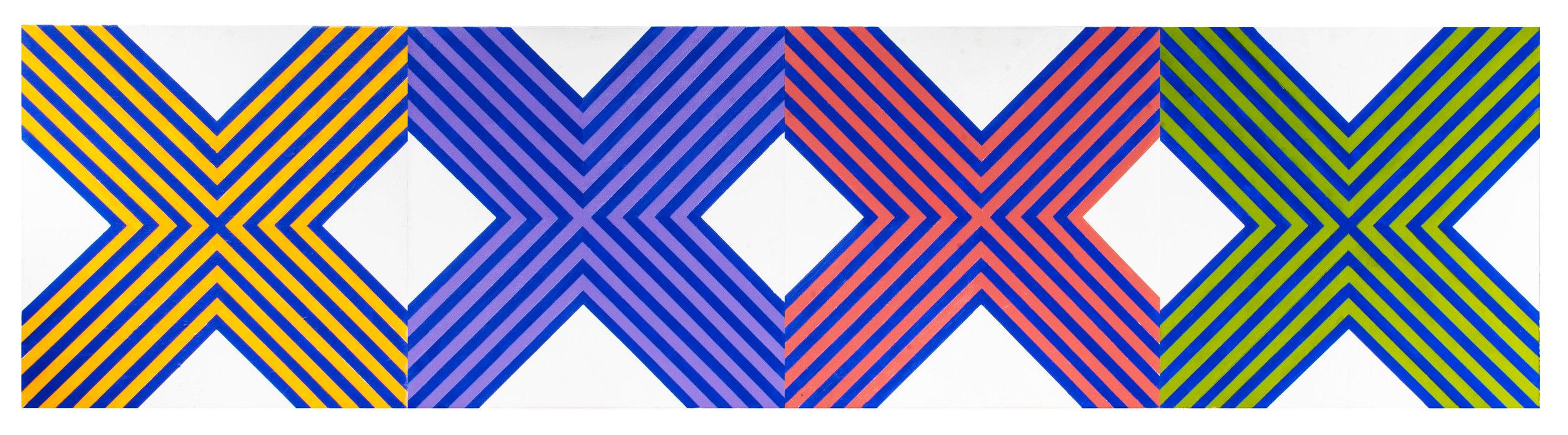 Stripes x 4